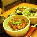 ミニ味噌豚丼セット