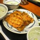 豚ロース炭火焼定食