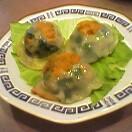 海鮮ニラ饅頭(うろ覚え)