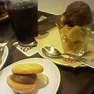 ショコラブッセ&フローズンチョコレートクリスピー