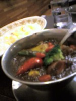 季節の野菜カレー