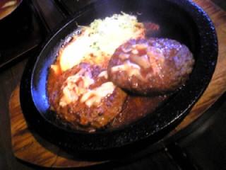 Wキムチチーズハンバーグ