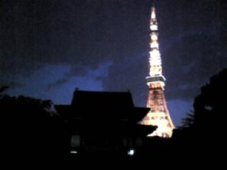 東京タワーwtih増長時