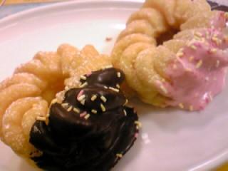 チョコバナナフレンチ&クランベリーチーズフレンチ